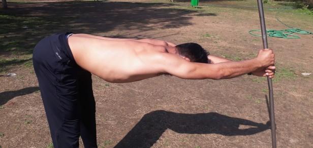 forward bending